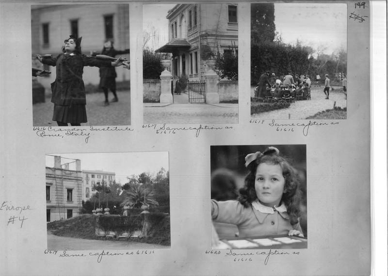 Mission Photograph Album - Europe #04 Page 0149