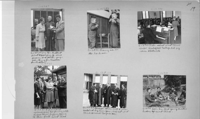 Mission Photograph Album - China #20 page 0019