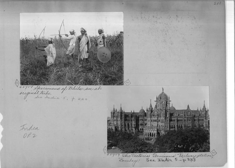 Mission Photograph Album - India - O.P. #02 Page 0211