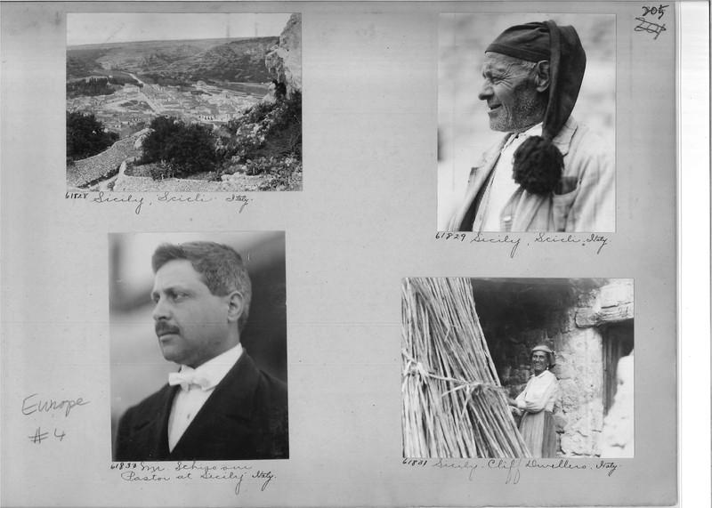 Mission Photograph Album - Europe #04 Page 0205