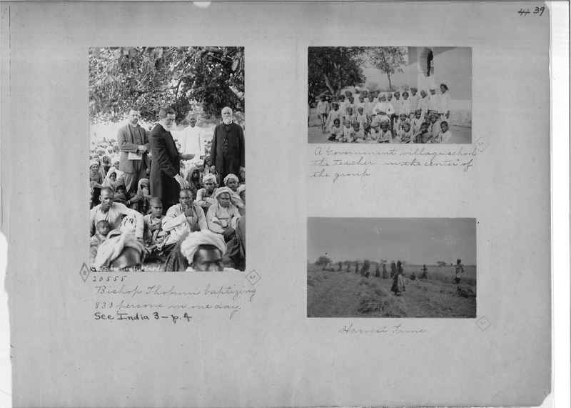Mission Photograph Album - India - O.P. #01 Page 0039