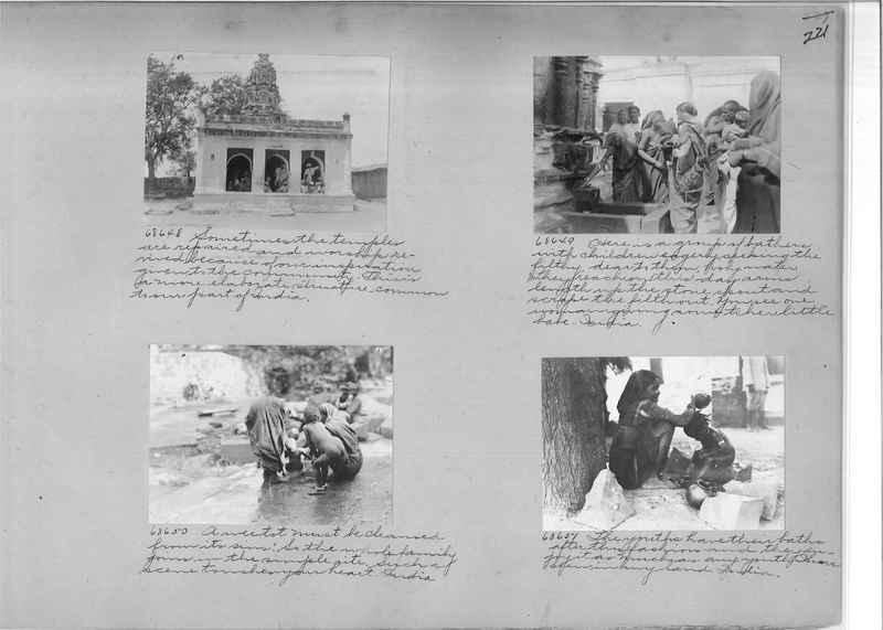Mission Photograph Album - India #08 Page 0221