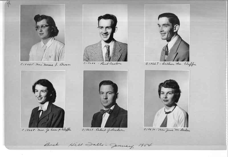 Mission Photograph Album - Portraits #08 Page 0078