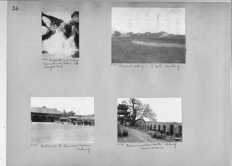 Mission Photograph Album - China #2 page  0026