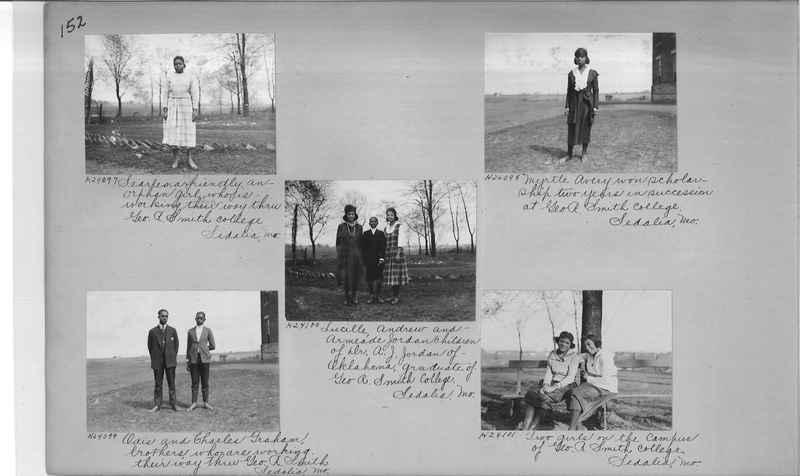 Mission Photograph Album - Negro #3 page 0152