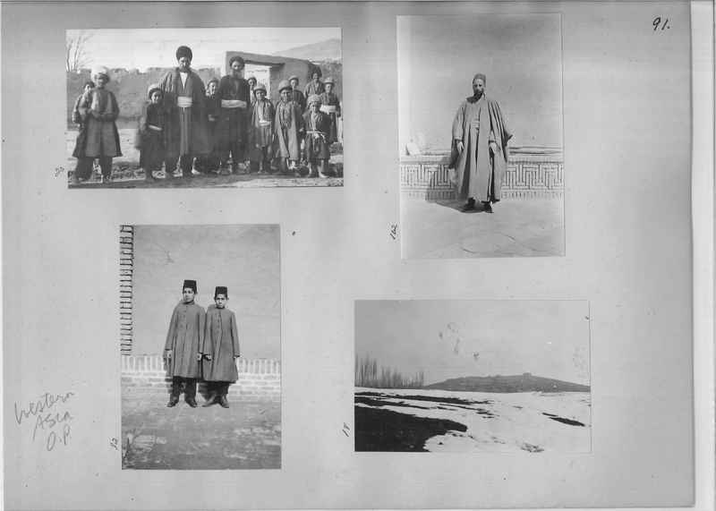Mission Photograph Album - Western Asia - O.P. - #01 page_0091