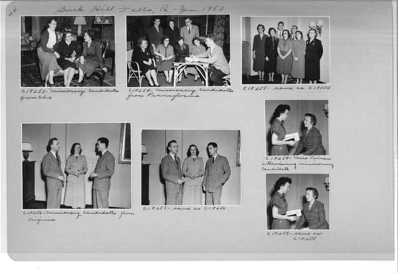 Mission Photograph Album - Portraits #08 Page 0024