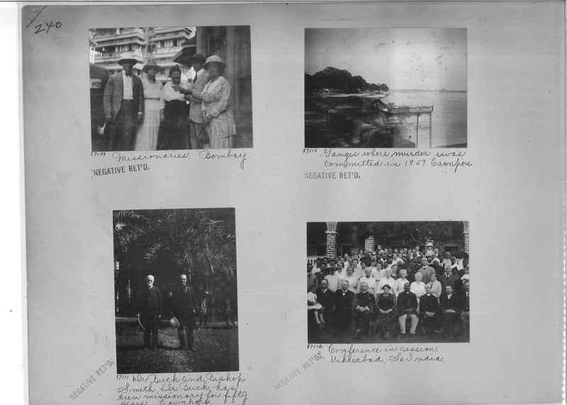 Mission Photograph Album - India #09 Page 0240
