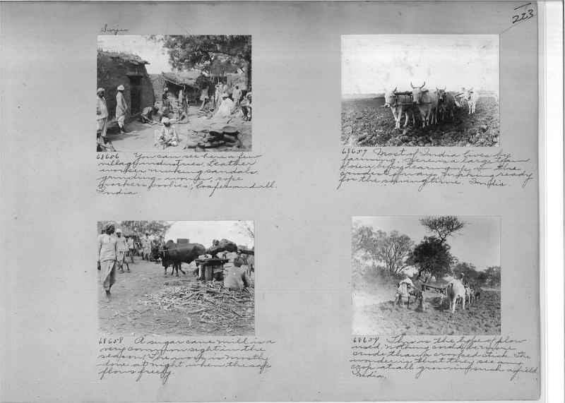 Mission Photograph Album - India #08 Page 0223