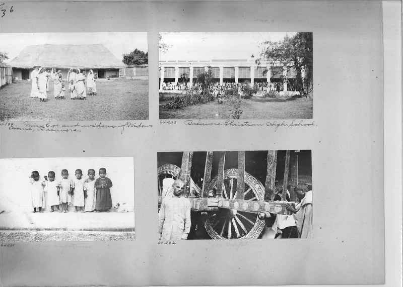Mission Photograph Album - India #08 Page 0036