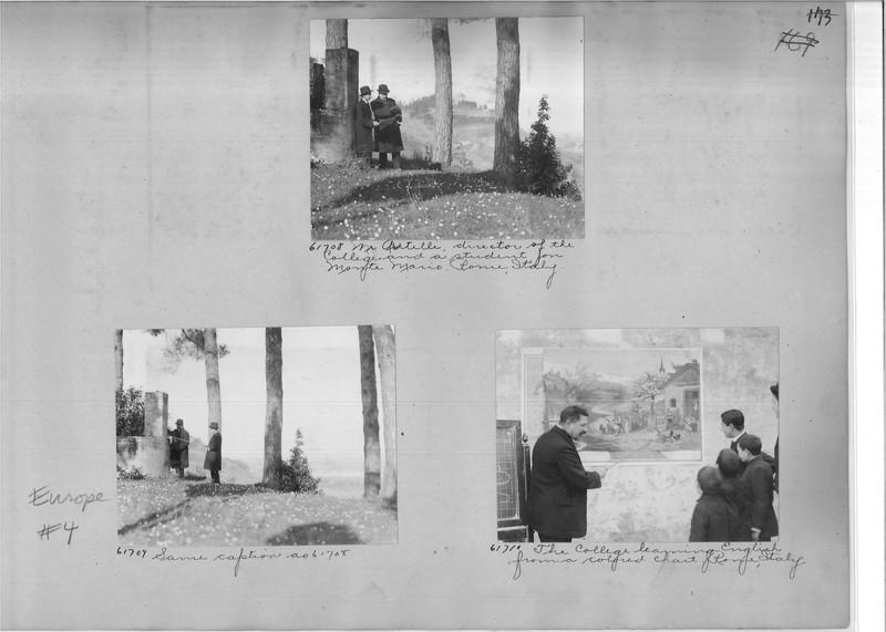 Mission Photograph Album - Europe #04 Page 0173
