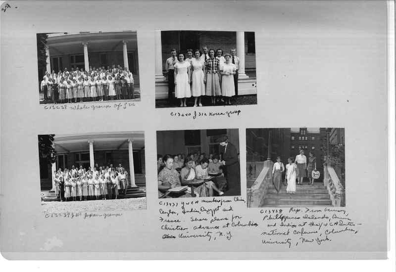Mission Photograph Album - Portraits #13 Page 0034