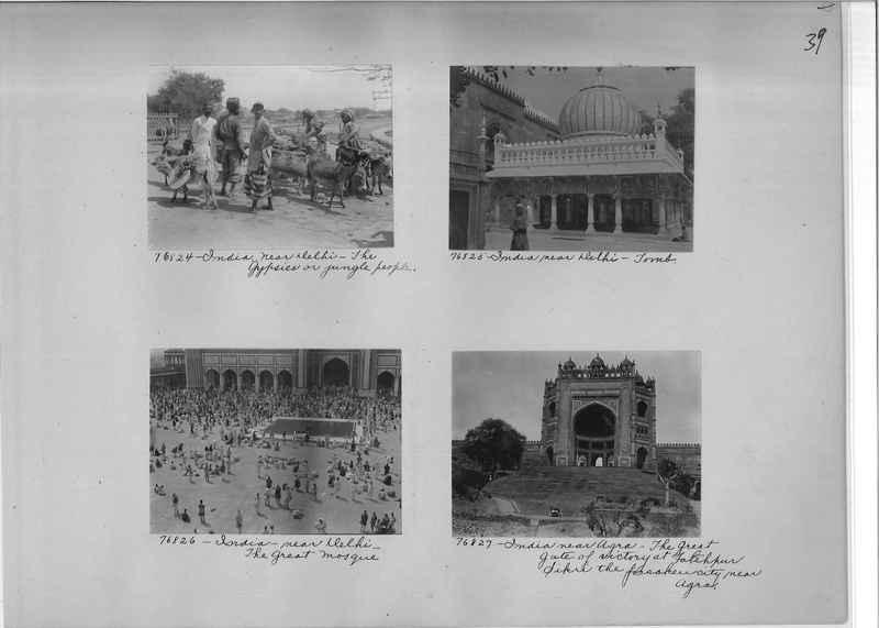 Mission Photograph Album - India #09 Page 0039
