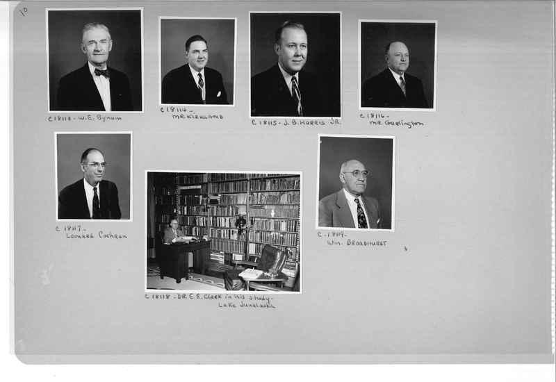 Mission Photograph Album - Portraits #08 Page 0010
