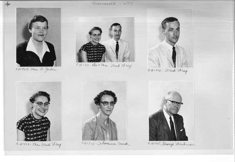 Mission Photograph Album - Portraits #10 Page 0076