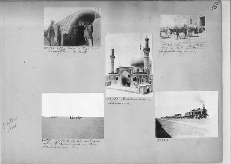 Mission Photograph Album - Western Asia - #01 page_0085