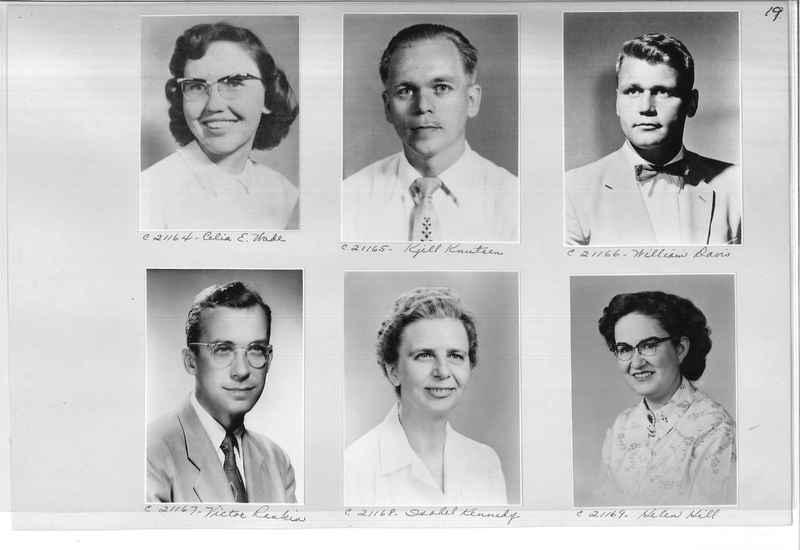 Mission Photograph Album - Portraits #10 Page 0019