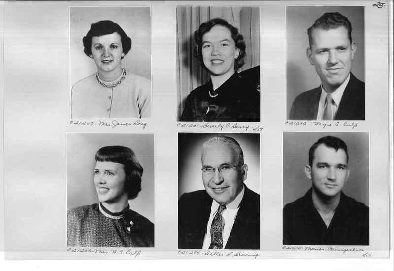 Mission Photograph Album - Portraits #10 Page 0025
