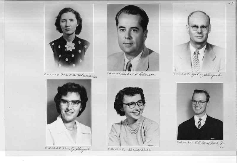 Mission Photograph Album - Portraits #10 Page 0029