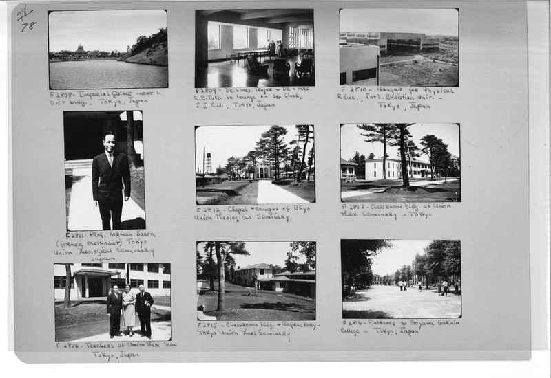Mission Photograph Album - Japan #07 Page 0078