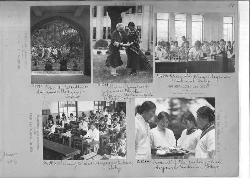 Mission Photograph Album - Japan #06 Page 0031