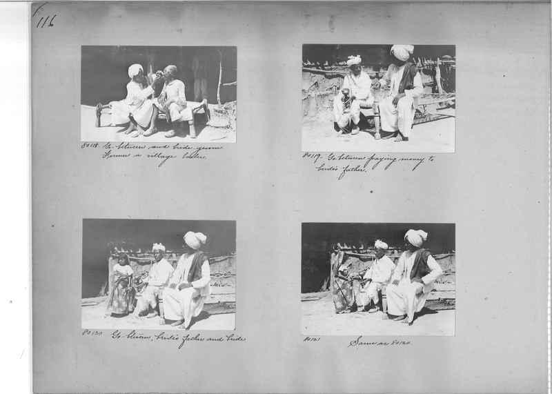 Mission Photograph Album - India #09 Page 0116