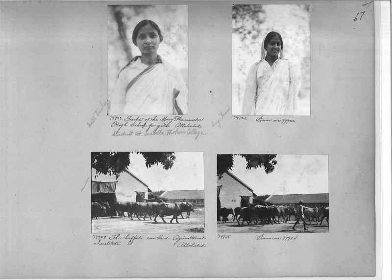 Mission Photograph Album - India #09 Page 0067