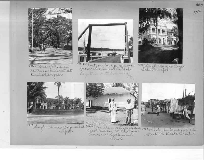 Mission Photograph Album - Malaysia #7 page 0123