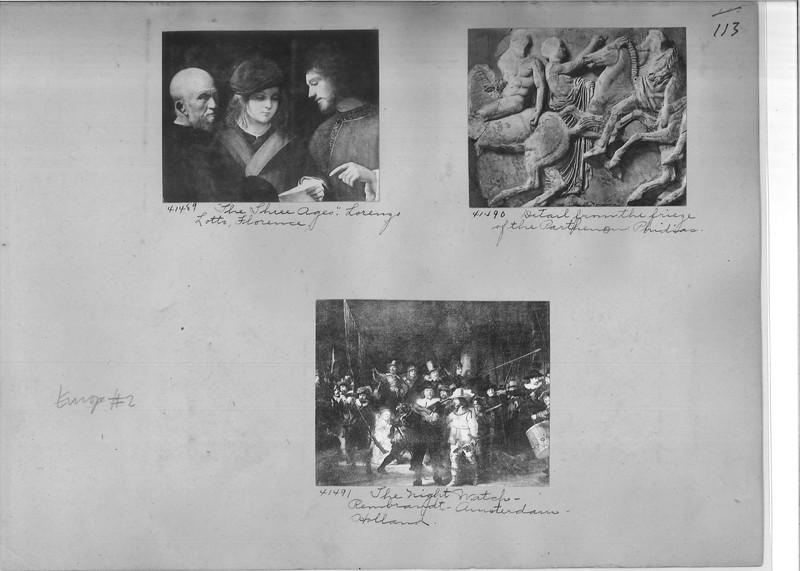 Mission Photograph Album - Europe #02 Page 0113
