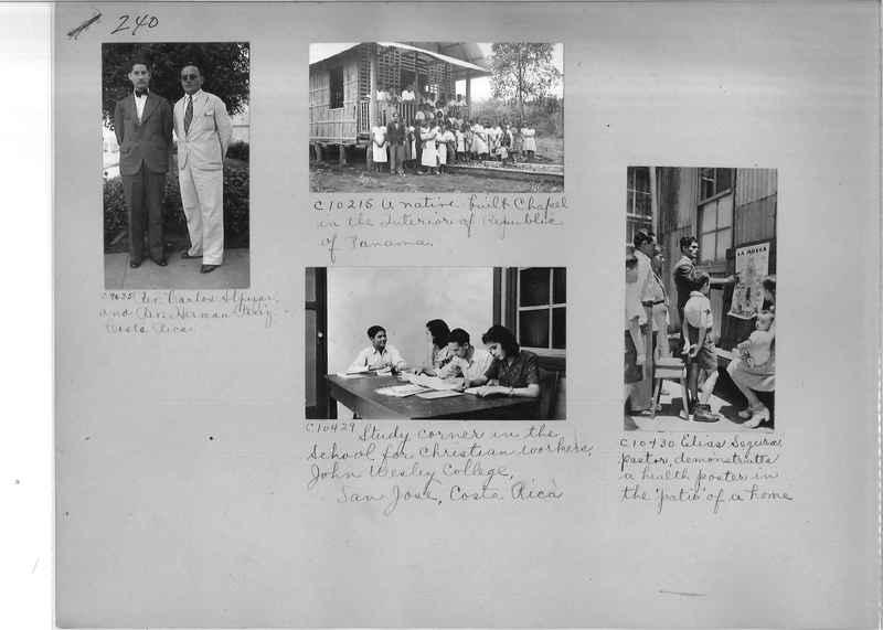 Mission Photograph Album - Panama #04 page 0240