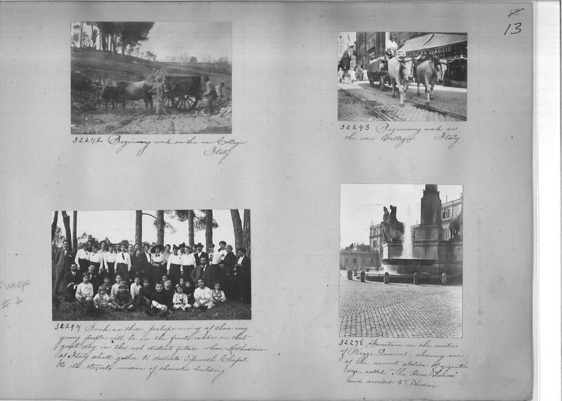 Mission Photograph Album - Europe #02 Page 0013