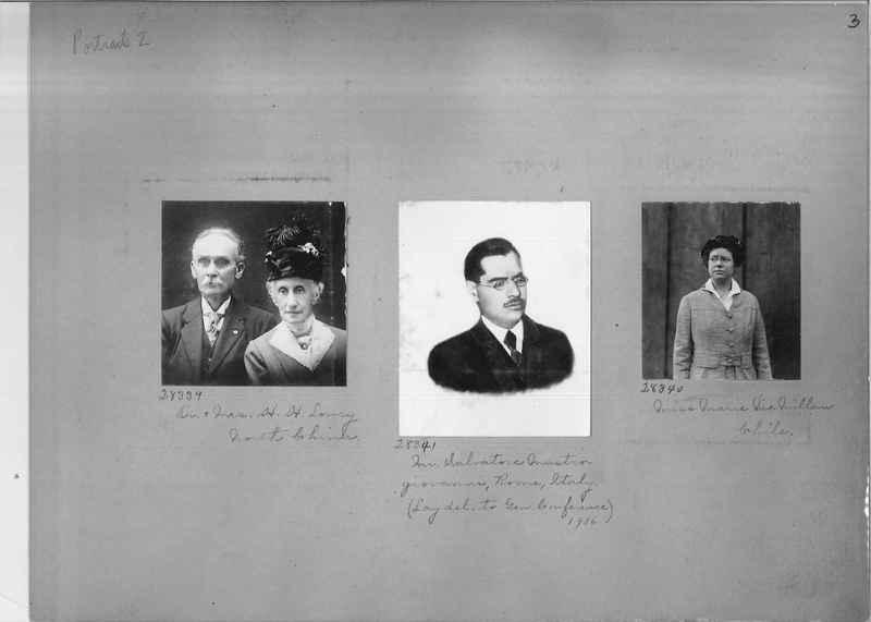 Mission Photograph Album - Portraits #2 page 0003