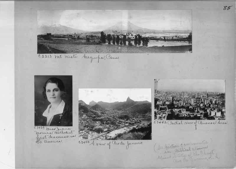 Misson Photograph Album - South America #8 page 0085