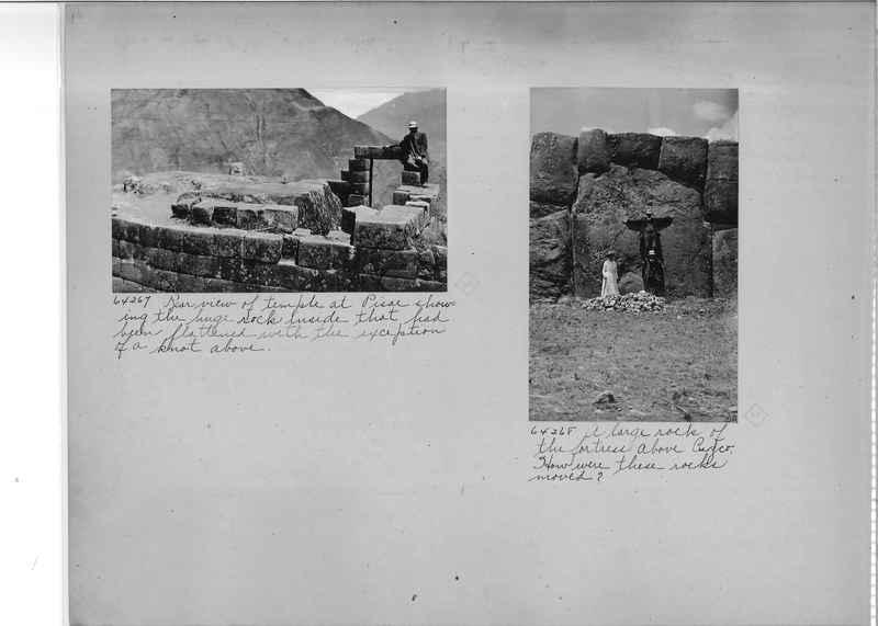 Mission Photograph Album - South America O.P. #3 page 0010
