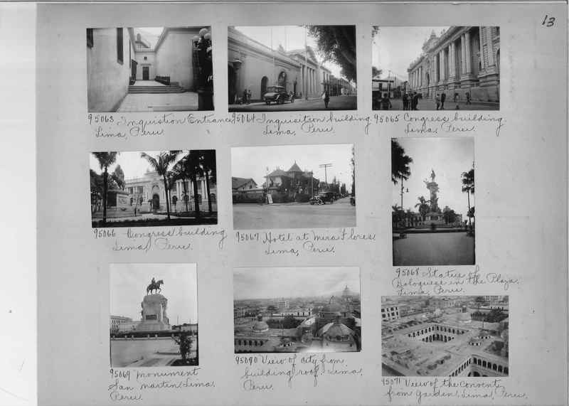 Misson Photograph Album - South America #8 page 0013