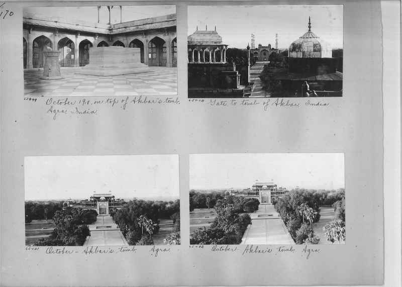 Mission Photograph Album - India #08 Page 0170