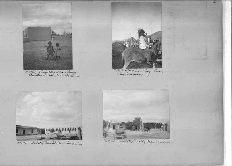 Mission Photograph Album - Indians #2 page_0041