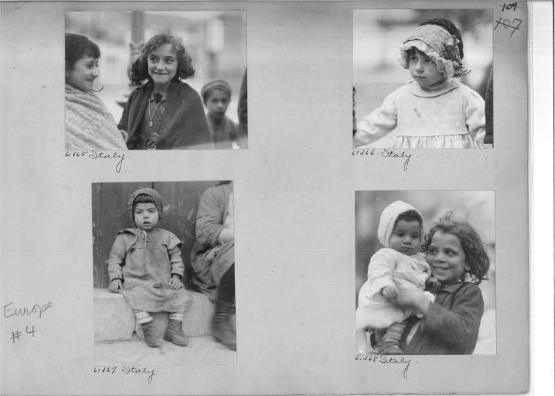 Mission Photograph Album - Europe #04 Page 0109