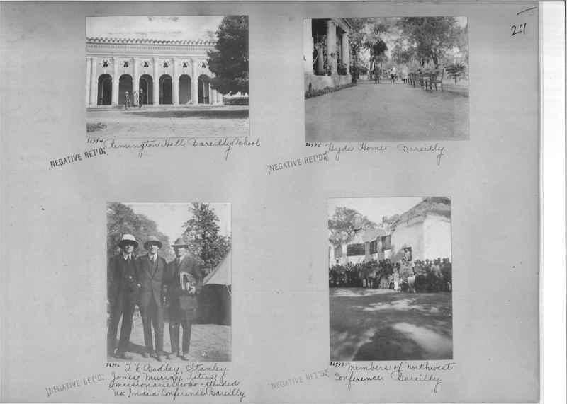Mission Photograph Album - India #09 Page 0211