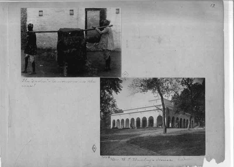 Mission Photograph Album - India - O.P. #01 Page 0013