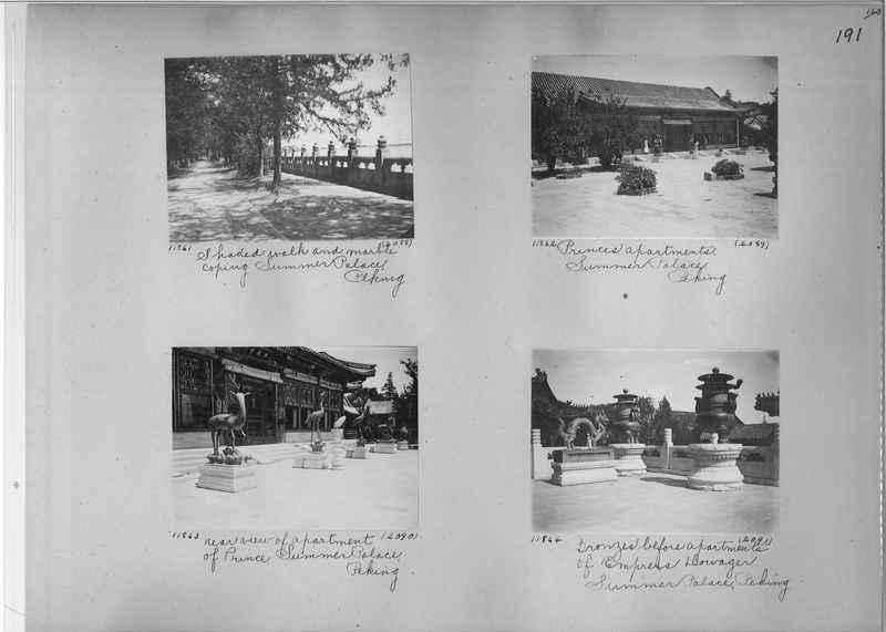 Mission Photograph Album - China #2 page  0191
