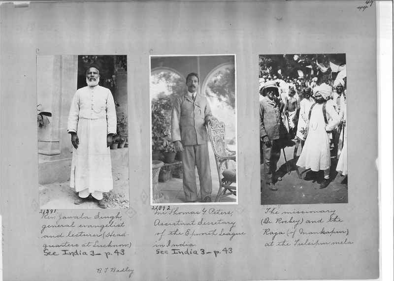 Mission Photograph Album - India - O.P. #01 Page 0047