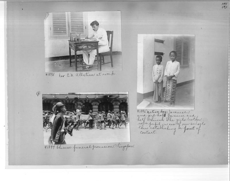 Mission Photograph Album - Malaysia #2 page 0171