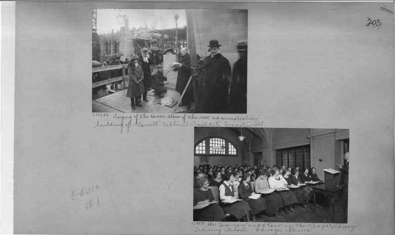 Mission Photograph Album - Education #1 page 0204