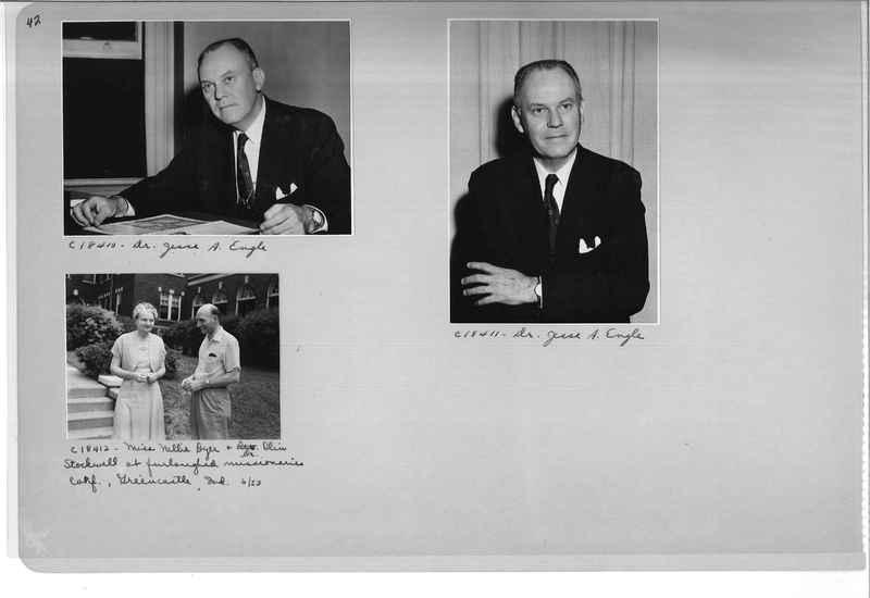 Mission Photograph Album - Portraits #08 Page 0042