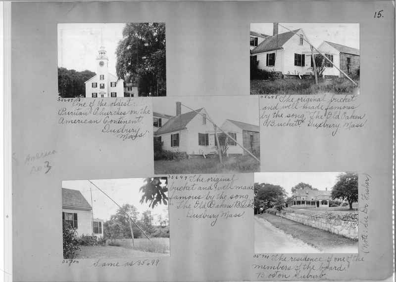 Mission Photograph Album - America #3 page 0015