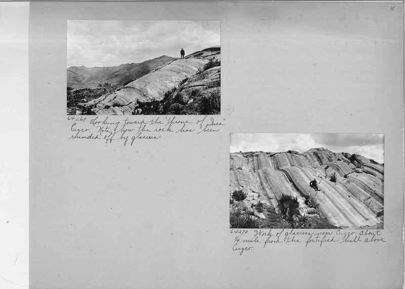 Mission Photograph Album - South America O.P. #3 page 0011