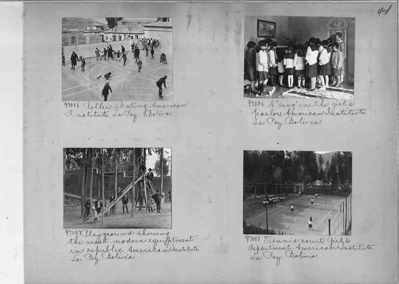 Misson Photograph Album - South America #8 page 0041