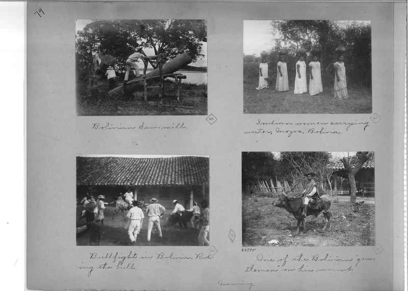 Mission Photograph Album - South America O.P. #1 page 0074