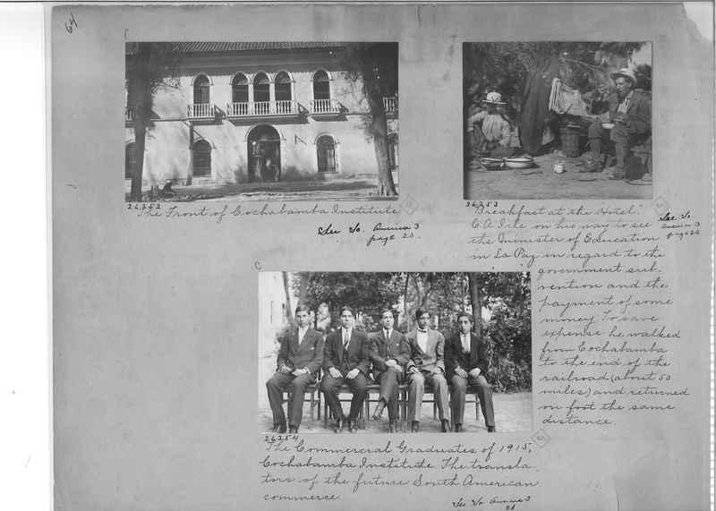 Mission Photograph Album - South America O.P. #1 page 0064